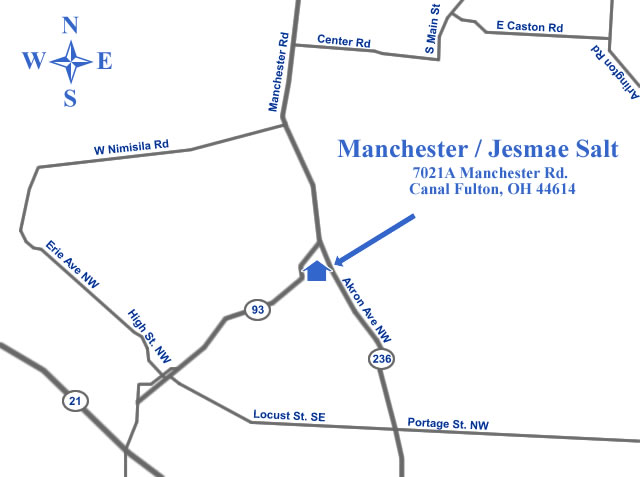 Manchester / Jesmae Salt Map